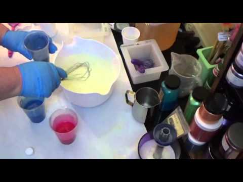 Making of Tropical Breeze CP Handmade Soap