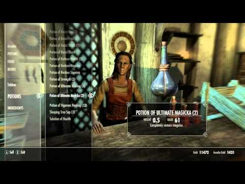 What is best Magicka potion - Skyrim