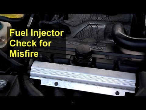 Checking your fuel injectors, trouble shooting a misfire - Auto Repair Series