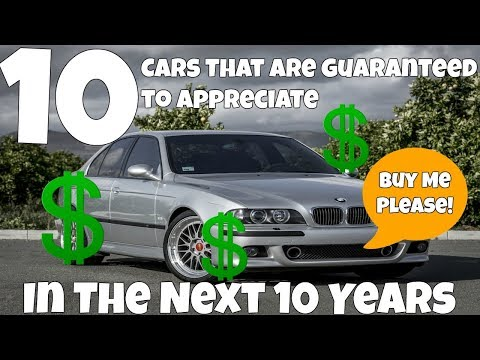 Top 10 Cars That Are Guaranteed To Appreciate In 10 Years