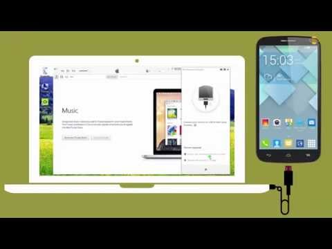 How to Transfer Alcatel OneTouch Pop Icon Music to iTunes Library on PC?