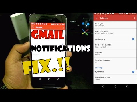Gmail Notifications Not Showing??? - [ FIX ].!!!