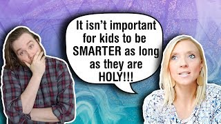 Christian Mommy Homeschools for All the Wrong Reasons!!!   Dear Mr Atheist