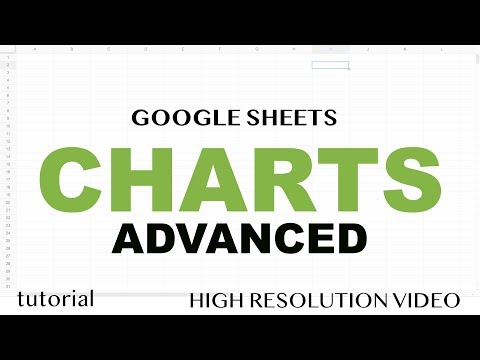 Google Sheets Charts - Advanced- Data Labels, Secondary Axis, Filter, Multiple Series, Legends Etc.