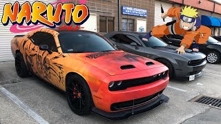 Anime Naruto (ナルト) Style Wrapped Srt Hellcat In The U.s.a!!!