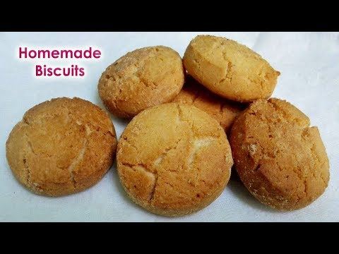 Homemade Biscuits || Crispy & Tasty Homemade Cookies