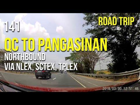 Road Trip #141 - Quezon City to Pangasinan via NLEX, SCTEX, and TPLEX