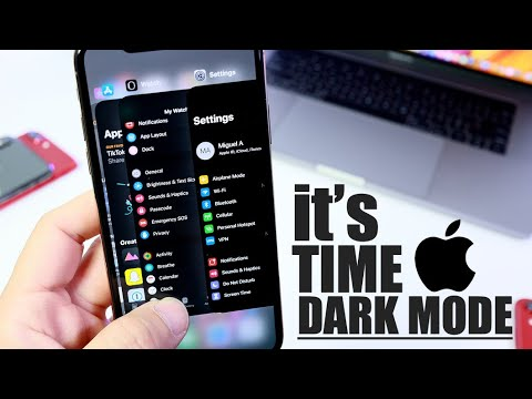 It's time for Dark Mode on iPhone | When will Apple introduce this New Feature ?