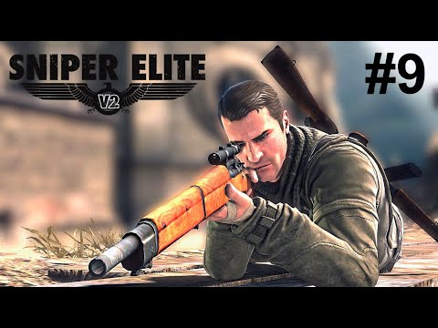Sniper Elite v2 (co-op campaign) - Kopenick Launch Site