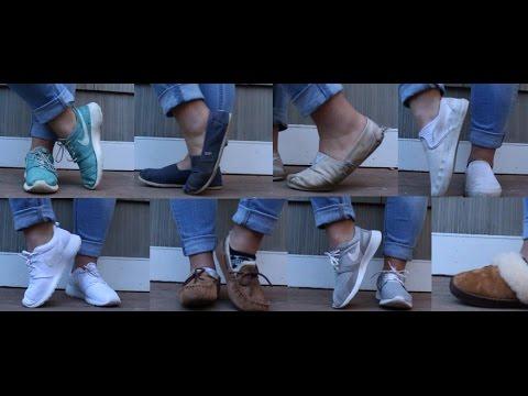 shoe collection// nike. vans. toms. ugg.