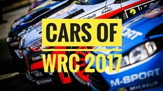 Cars of 2017 World Rally Championship : FIA WRC