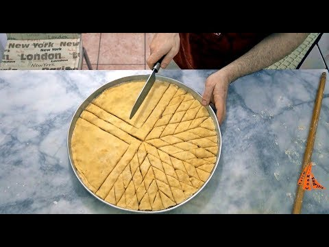 Turkish Baklava Recipe 30 Floors With Walnut Regional Dessert