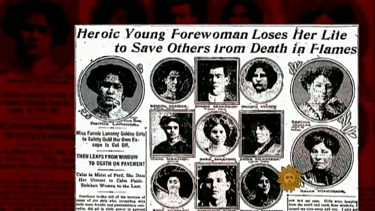 Remembering the Triangle Shirtwaist fire