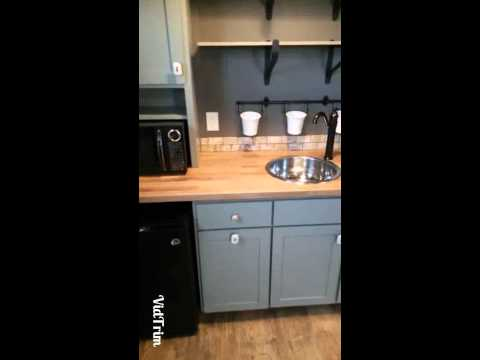 Backyard Bunkie-Tiny House Tour-Guest Suite-Office-Vacation Rental