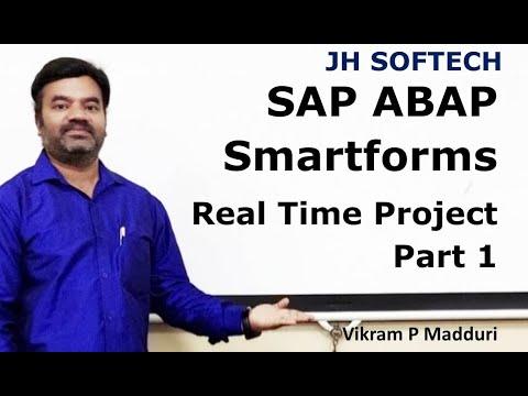 SAP ABAP Smartform Project Part 1