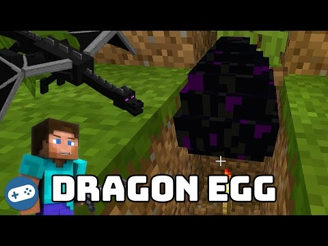 Minecraft Dragon Egg Duplicator - How To Duplicate Ender Dragon Eggs