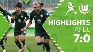 Traum-Fallrückzieher Pajor   VfL Wolfsburg - Bayer Leverkusen 7:0   Highlights