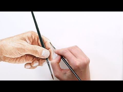 How to paint realistic skin tones in watercolour