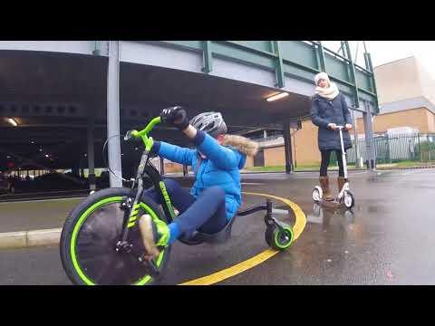 Huffy Green Machine & Slider Drift Trike Craziness
