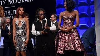 Whoopi Goldberg Speaks Out on Trans Issues | 28th Annual GLAAD Media Awards