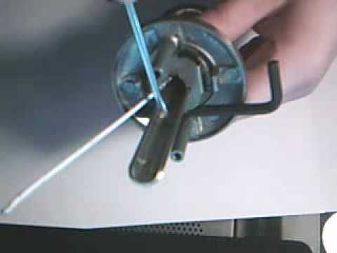 Kwikset KIK cylinder removal