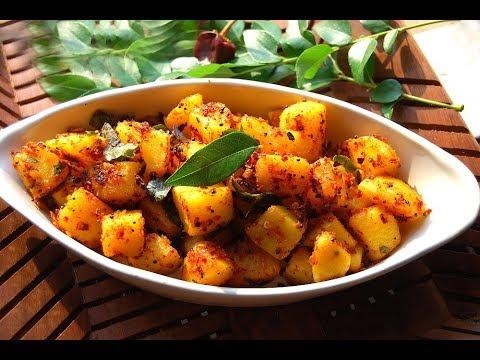 Potato chilli roast | Urulai kizhangu milagai varuval