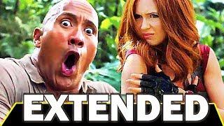 JUMANJІ 2 EXTENDED Trailer (2017) Dwayne Johnson, Kevin Hart Movie HD