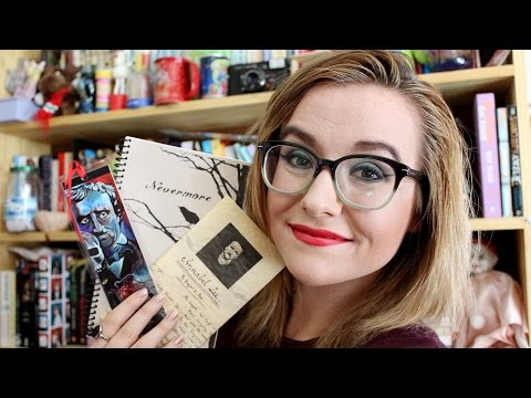 Edgar Allan Poe Gift Unboxing    Velvet Library