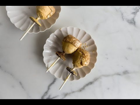 DIY Champagne Glass Cake Pops
