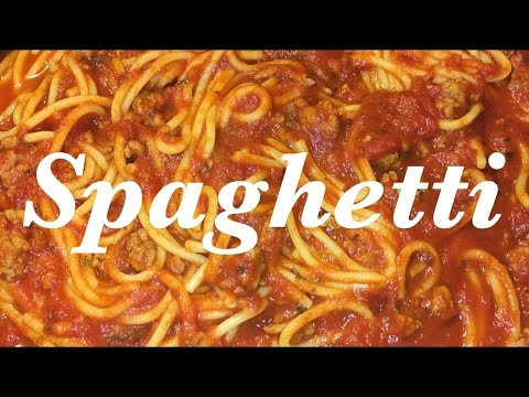 🍴How to Make/Cook Spaghetti 🍝 | Basic Spaghetti Recipe Simple & Fast | Cheap Meal | HD Review