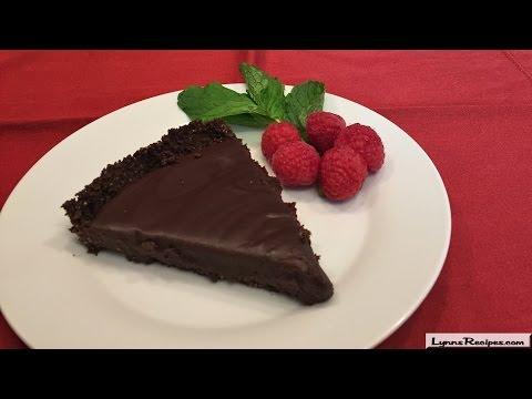 Chocolate Honey Almond Tart - Lynn's Recipes