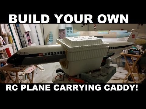 BUILD YOUR OWN RC AIRPLANE CARRYING CASE!