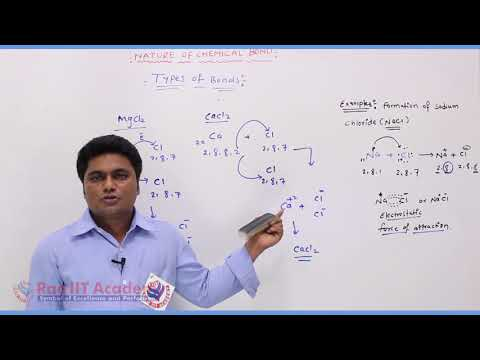Nature of Chemical Bond  Chemistry Part-2 std 11th HSC Board Video Lecture BY Rao IIT