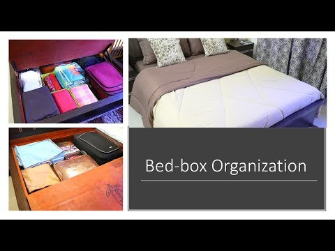 Bed-box Organization - How To Organize Bed-box