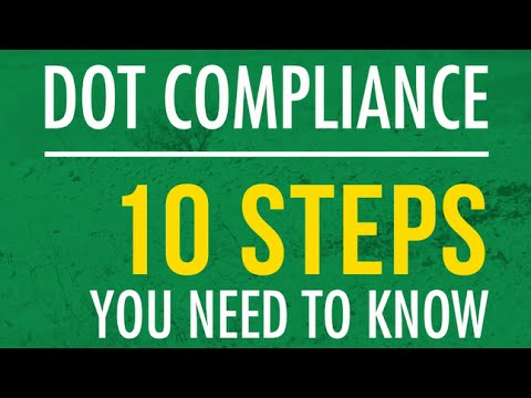 TBS Factoring Service: DOT Compliance: 10 Steps You Need To Know