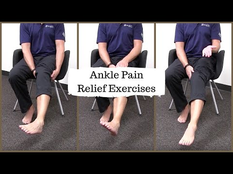 Ankle Pain Relief Exercises