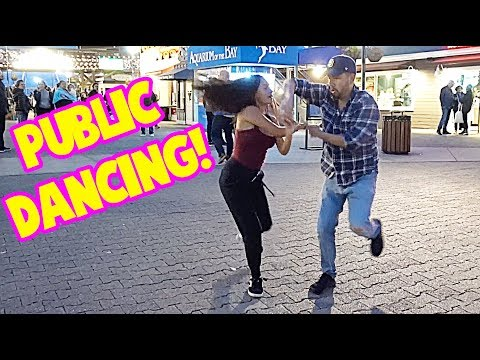Dancing in Public with my daughter!