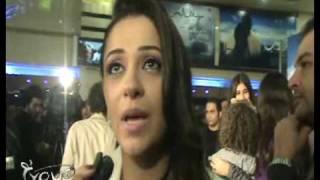 بطلة فيلم ولد وبنت.. مريم حسن :أحمد ضربني بجد