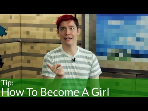 How To Become A Girl In Minecraft