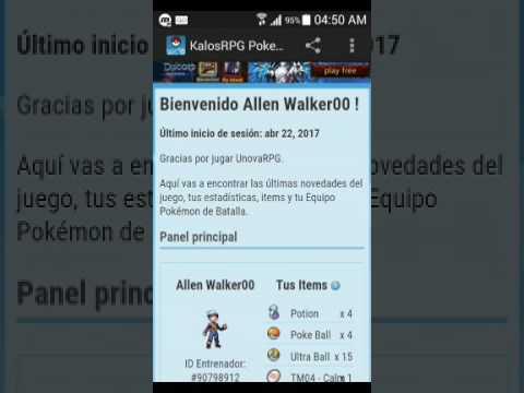 Pokemon UnovaRPG #4☆Arrasando con hoenn y kanto+Mega Gallade☆//Allen Walker00//
