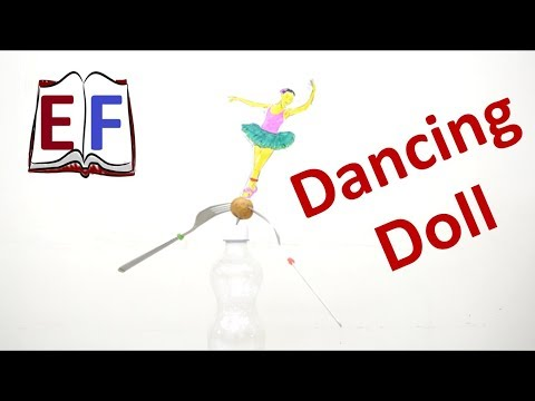 Making a dancing doll using Center of Mass: DIY School Physics Project
