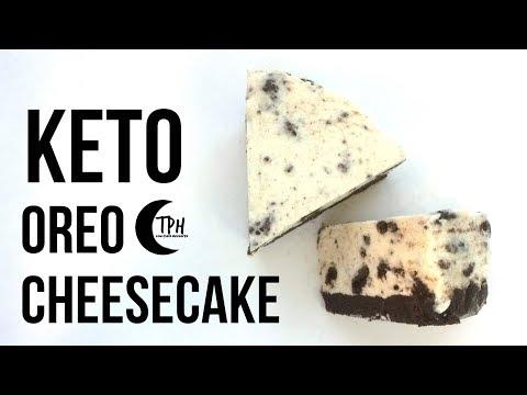 Keto Oreo Cheesecake | Low-Carb No-Bake Cheesecake Recipe | Sugar-Free Cookies 'n' Cream Cheesecake