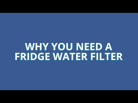 Use and Care Tips: Why You Need a Fridge Water Filter