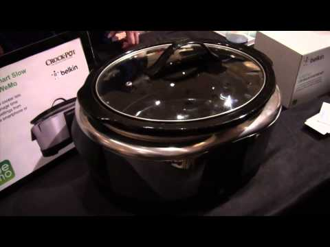 WeMo Crock-Pot, Smart Bulbs from Belkin - CES 2014