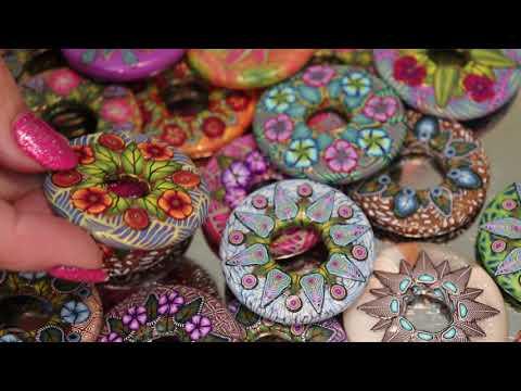 Donut Focal Bead