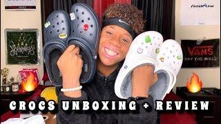 CROCS UNBOXING + REVIEW!!!🔥
