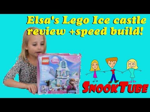 Elsa's Lego Ice Castle Review + Speed build!