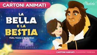 La Bella e la Bestia storie per bambini | cartoni animati Italiano | Storie della buonanotte