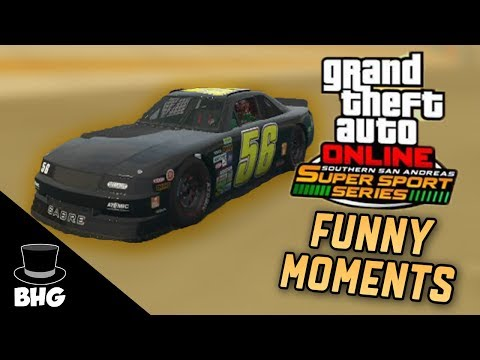 GTA Online Southern San Andreas Super Sport Series | Funny Moments
