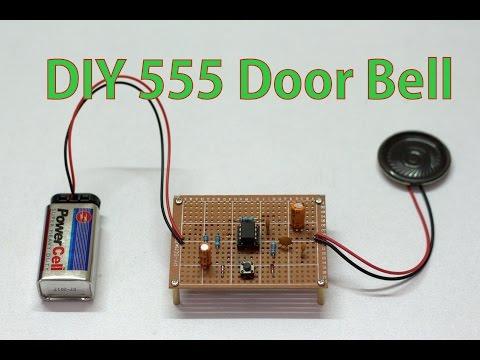 DIY Door Bell by using 555 Timer